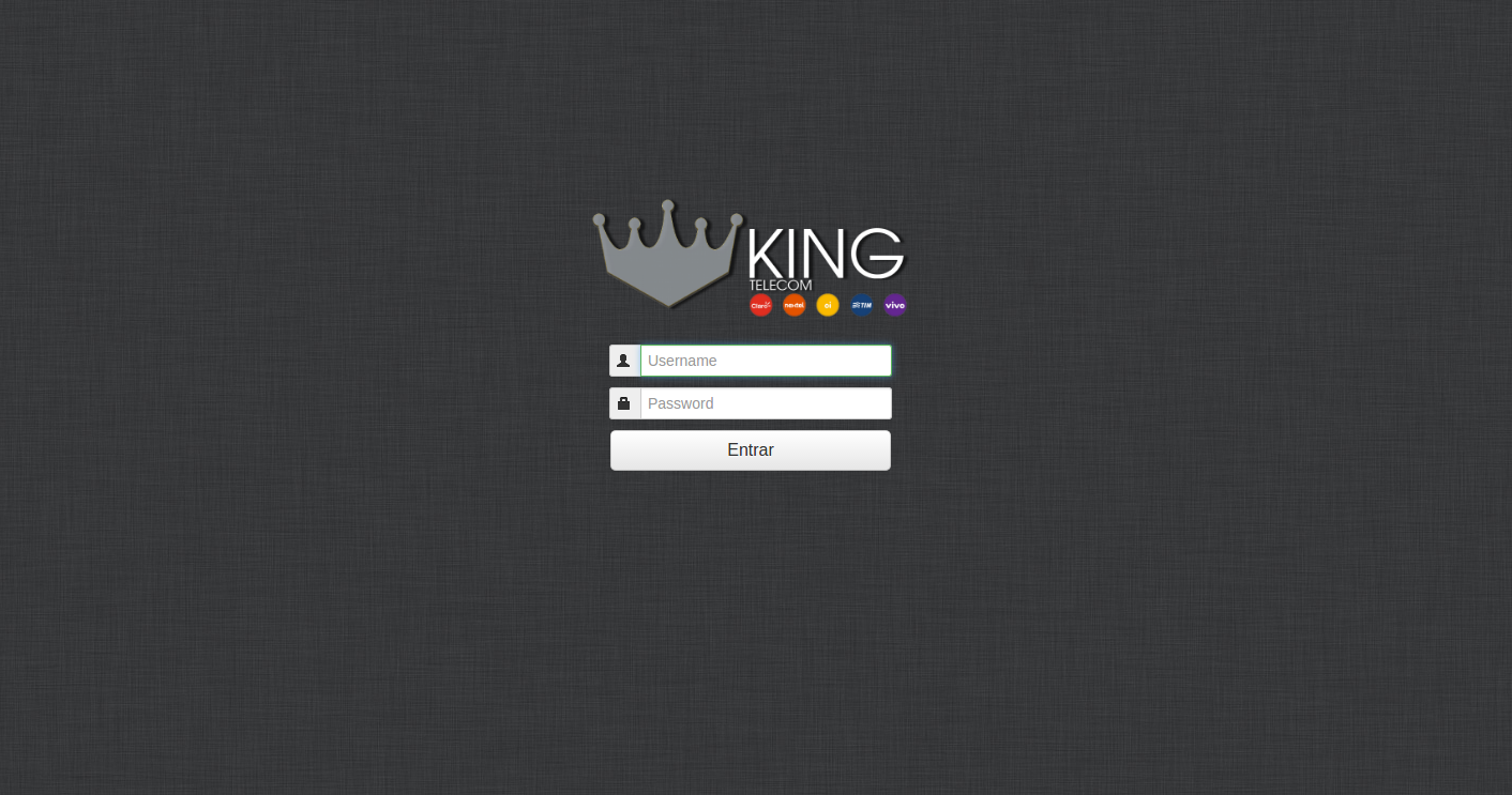kingdongle-portabilidade-login
